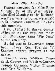 May 16, 1951. Courtesy of North Adams Transcript.