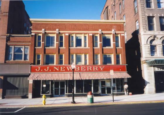 Former J.J. Newberry's, 1996.