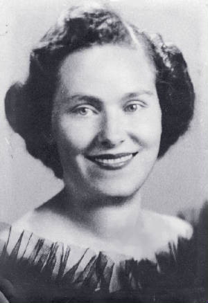 Novilla Crocker, William's daughter (and Judy's mother), date unknown. Photo provided by family.