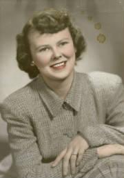 Patricia Eary, circa 1944.
