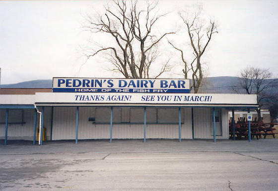 Pedrin's Dairy Bar, North Adams (1997)