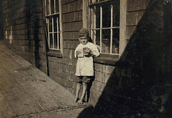 Preston Knowlton, Eastport, Maine, 1911, photo by Lewis Hine.