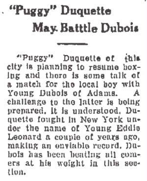 North Adams Transcript, February 10, 1925