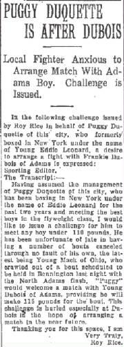 North Adams Transcript, February 13, 1925