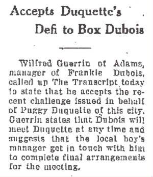 North Adams Transcript, February 16, 1925