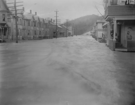 House at 385 River Street, November 3, 1927.