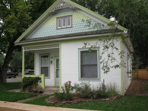Former Jacob Rommel home in Ft. Collins, Colorado. Photo courtesy of LostFortCollins.com.