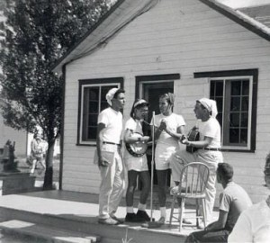Camp B'Nai Brith, near Ottawa, summer 1958.