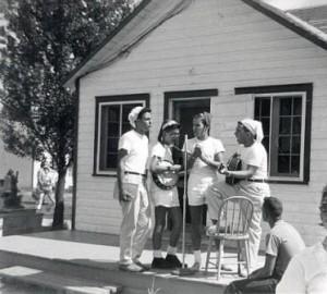 Camp B'Nai Brith, near Ottawa, summer 1958.
