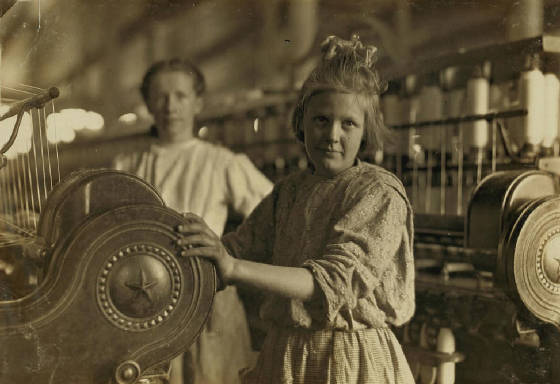 Sadie Barton, 13 years old, Lancaster, South Carolina, November 1908. Photo by Lewis Hine.