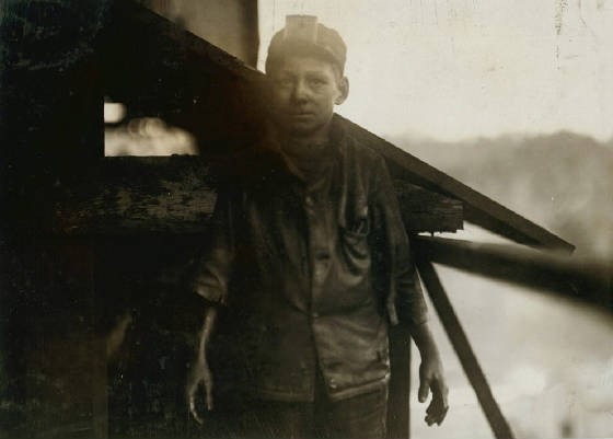 Henry Sharp Higginbotham, Bessie Mine, Jefferson County, Alabama, December 1910. Photo by Lewis Hine