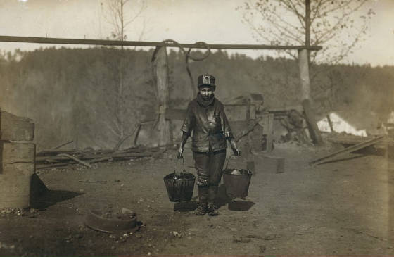 Henry Sharp Higginbotham, Bessie Mine, Alabama, 1910, photo by Lewis Hine