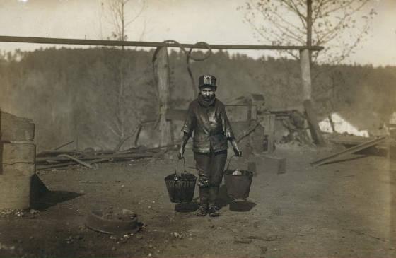 Henry Sharp Higginbotham, Bessie Mine, Alabama, 1910, photo by Lewis Hine