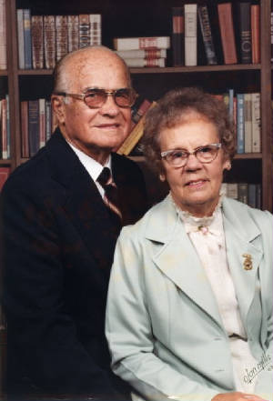 Simon and Loraine Birdsong, late 1970s