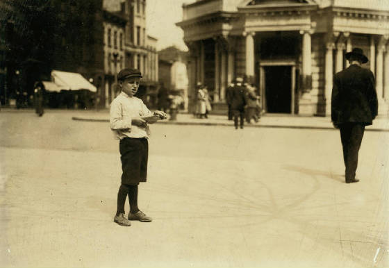 Solomon Sickle, Washington, DC, April 1912. Photo by Lewis Hine.