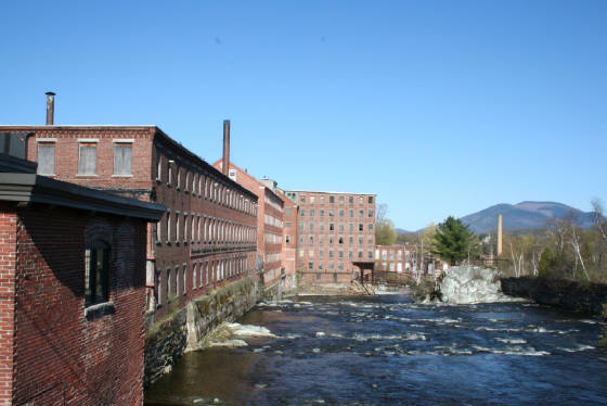 Mills along the Sugar River, Claremont, New Hampshire, 2006