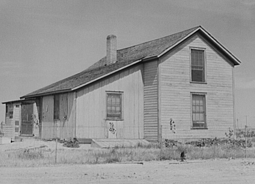 Wilfrid Tow family house. Photo by Marion Post Wolcott.
