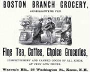 Advertisement in Keene Directory