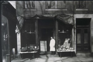 Percy Wheeler, proprietor of Wheeler's Boston Branch, Keene, NH, circa 1913. Photo courtesy of Historical Society of Cheshire County.