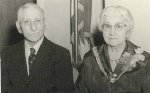 Zoel & Alexina Desmarais, date unknown. Photo provided by family.
