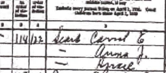1930 Census listing