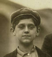 Adelard Gagnon, 1911. Photo by Lewis Hine.