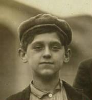 Adelard Gagnon, 1911. Photo by Lewis Hine.