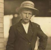 John Padgett, 1914. Photo by Lewis Hine.