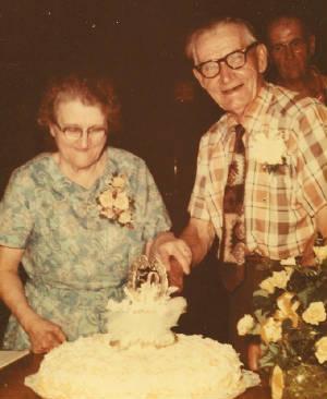 Anita Pothier Giard and husband David, 50th wedding anniversary.