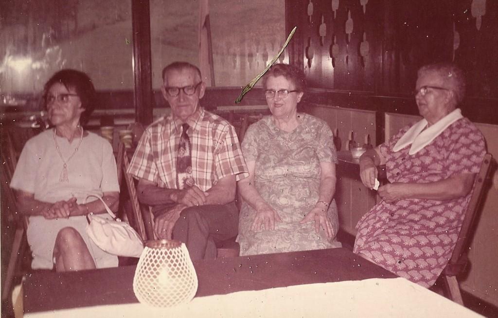 (L-R): Antoinette, David, Anita, Yvonne.