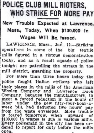 Indianapolis Star, January 13, 1912.