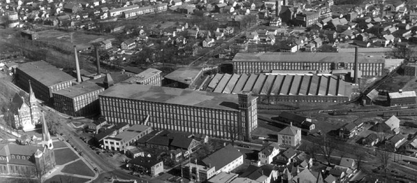 Berkshire Mills, 1929. Adams Hist. Soc.