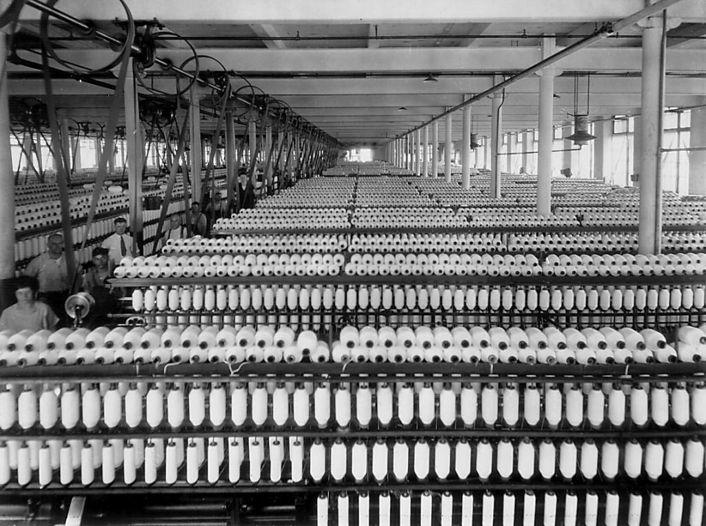 Berkshire Mills, early 1900s. Adams Hist.