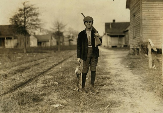 Charlie Baxley, December 1908, Dillon, South Carolina. Photo by Lewis Hine.