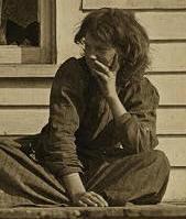 Daisy Estes, 1908. Photo by Lewis Hine.