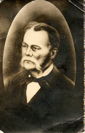 Friedrich Von Frankenstein, date unknown. Photo provided by family.