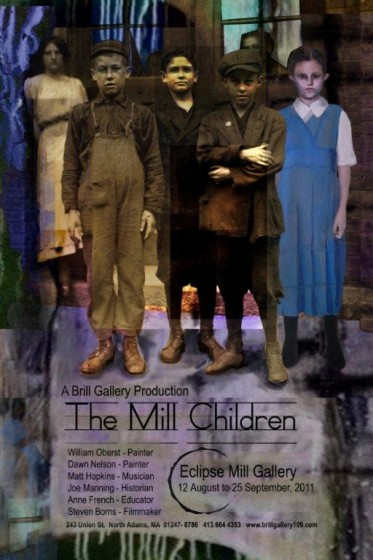 Poster for the Mill Children exhibit.