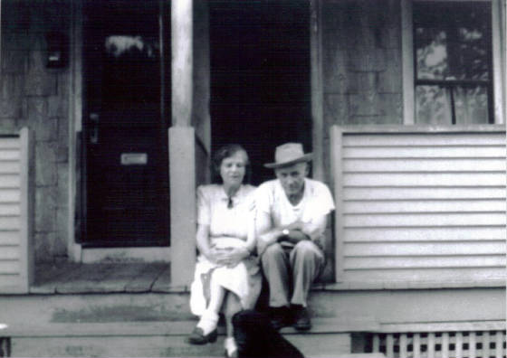 Edgar Charbonneau and wife Loretta, 1958. Photo provided by family.