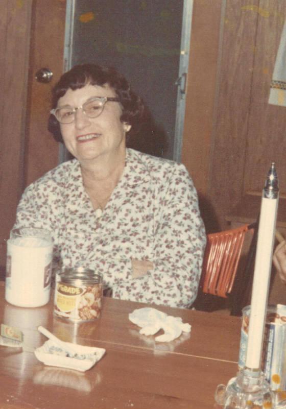 Elizabeth Young Murdaugh Hunley, early 1960s.