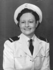 Elizabeth Young Murdaugh, as a Navy nurse.