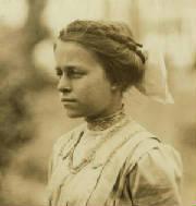 Eva Tanguay, 1911. Photo by Lewis Hine.