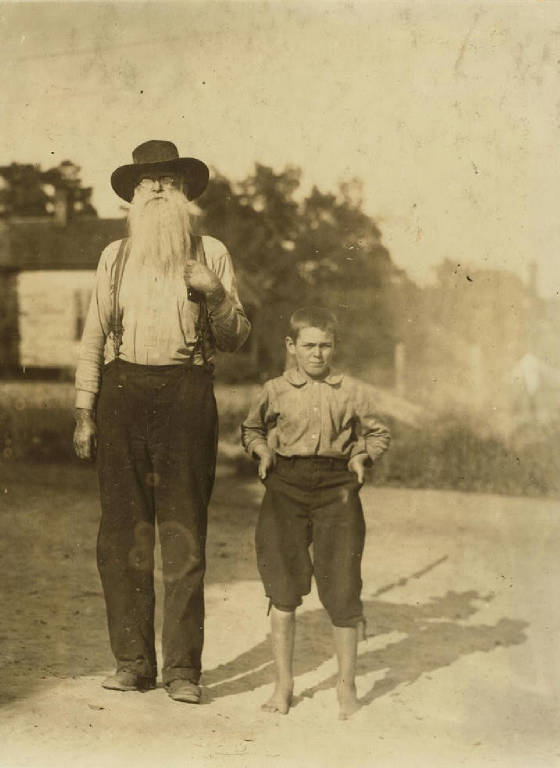 Fred Willingham, 11 yrs old, Belton, SC, May 1912. Photo by Lewis Hine.