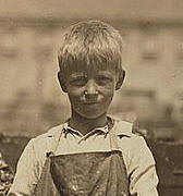 Grayson Forsyth, 1911. Photo by Lewis Hine.