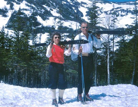 Joseph Nelson White III and Shirley Emerick, 1958.