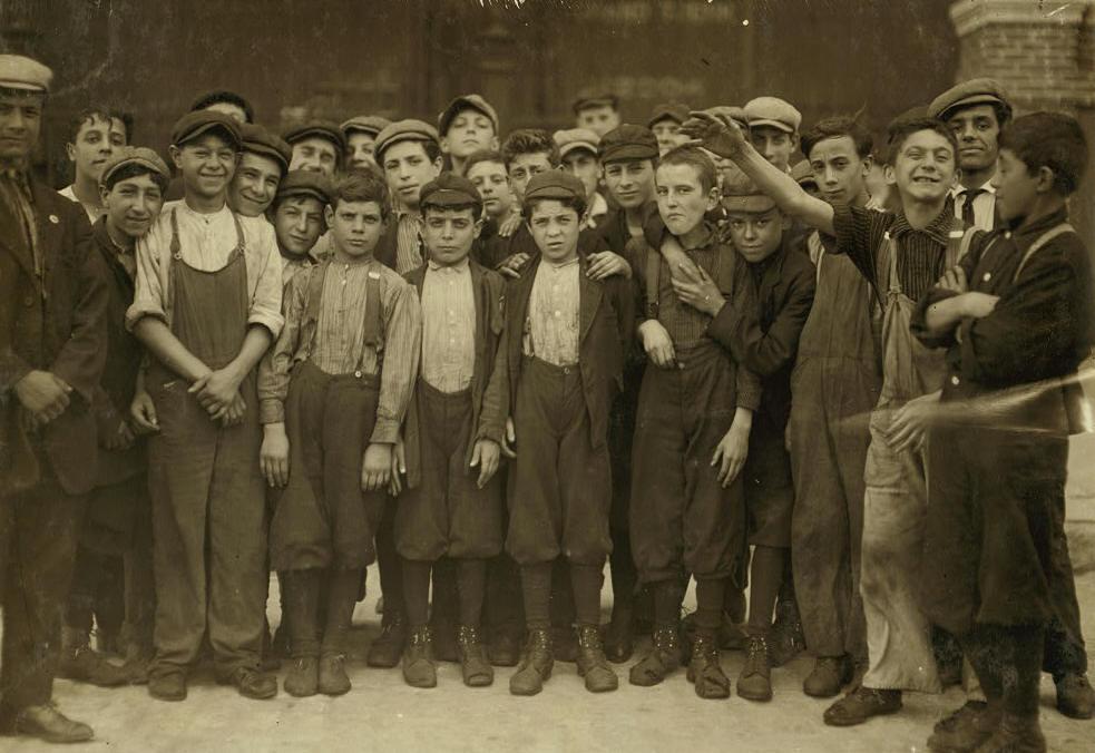 Lewis Hine Photo #1, 1911.