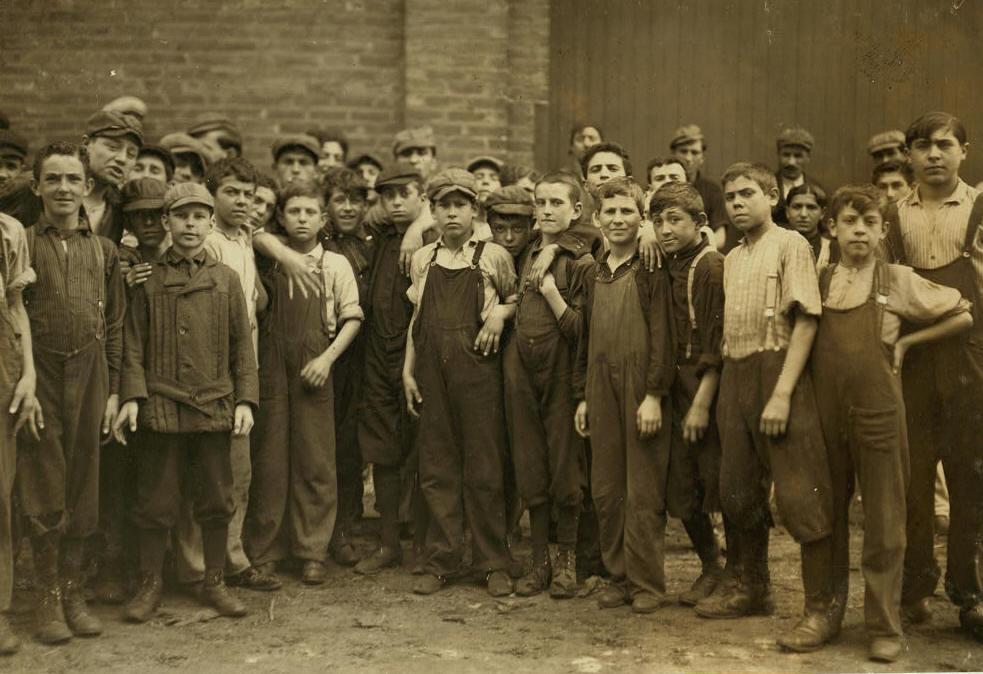 Lewis Hine Photo #2, 1911.
