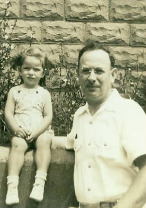 Jacob Black and daughter Susan, 1942.