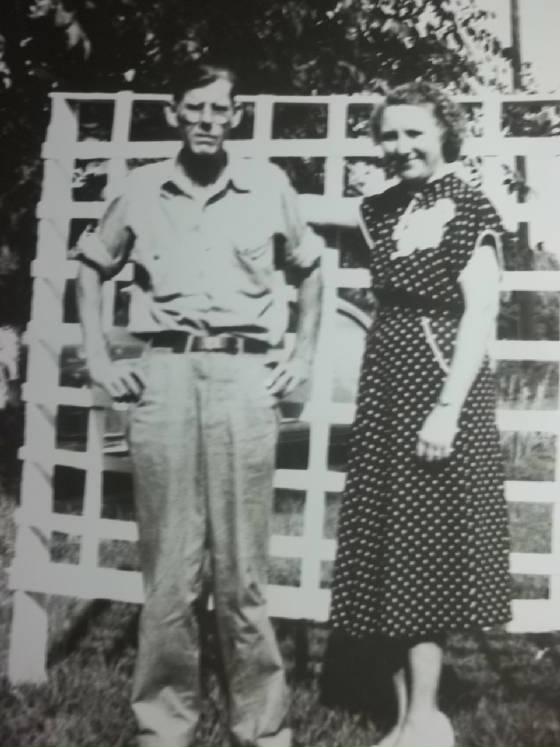 John and Rosa Padgett, 1950s.