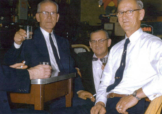 (L-R): John Endyke, and brothers Edward and Adam.