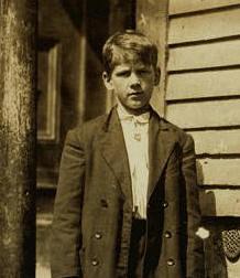 John Endyke, 1911. Photo by Lewis Hine.
